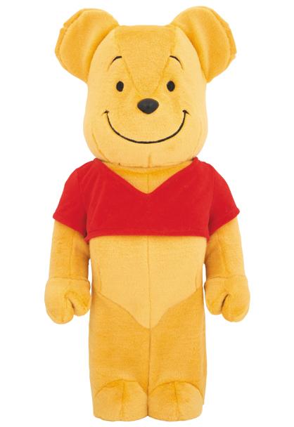 = 即決! ディズニー くまのプーさん 着ぐるみ ベアブリック 1000% BE@RBRICK Disney Winnie the Pooh 新品未開封_画像1