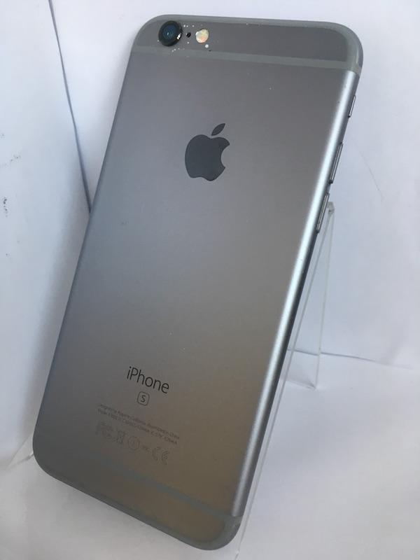 ★ iPhone6s 64GB スペースグレー Softbank ソフトバンクMKQN2J/A 中古 初期化済み ロックなし_画像2