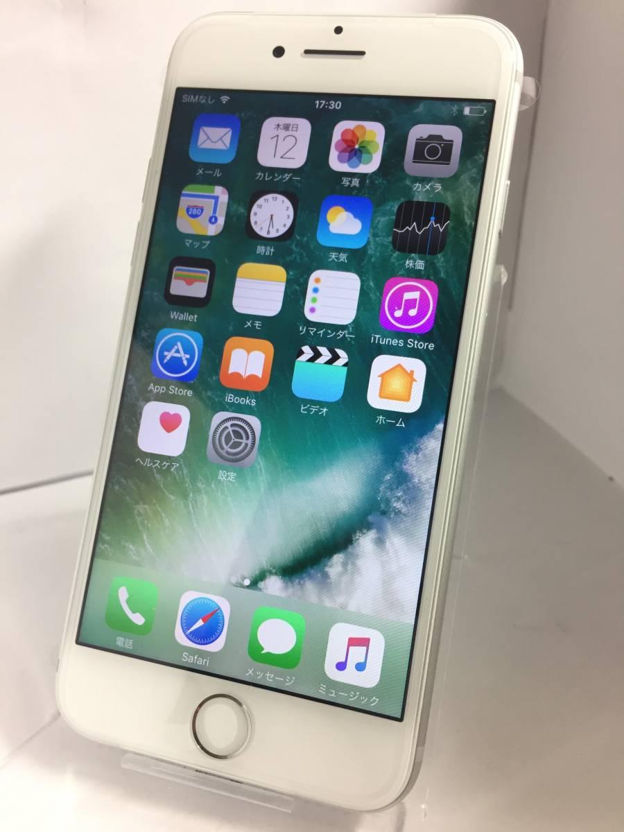 ★ 交換品新品 iPhone7 シルバー 銀 au エーユー NNCL2J/A 128GB 初期化 動作確認済み