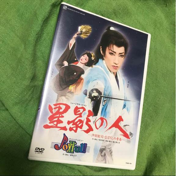 宝塚歌劇 DVD 星影の人 水夏希 白羽ゆり 雪組