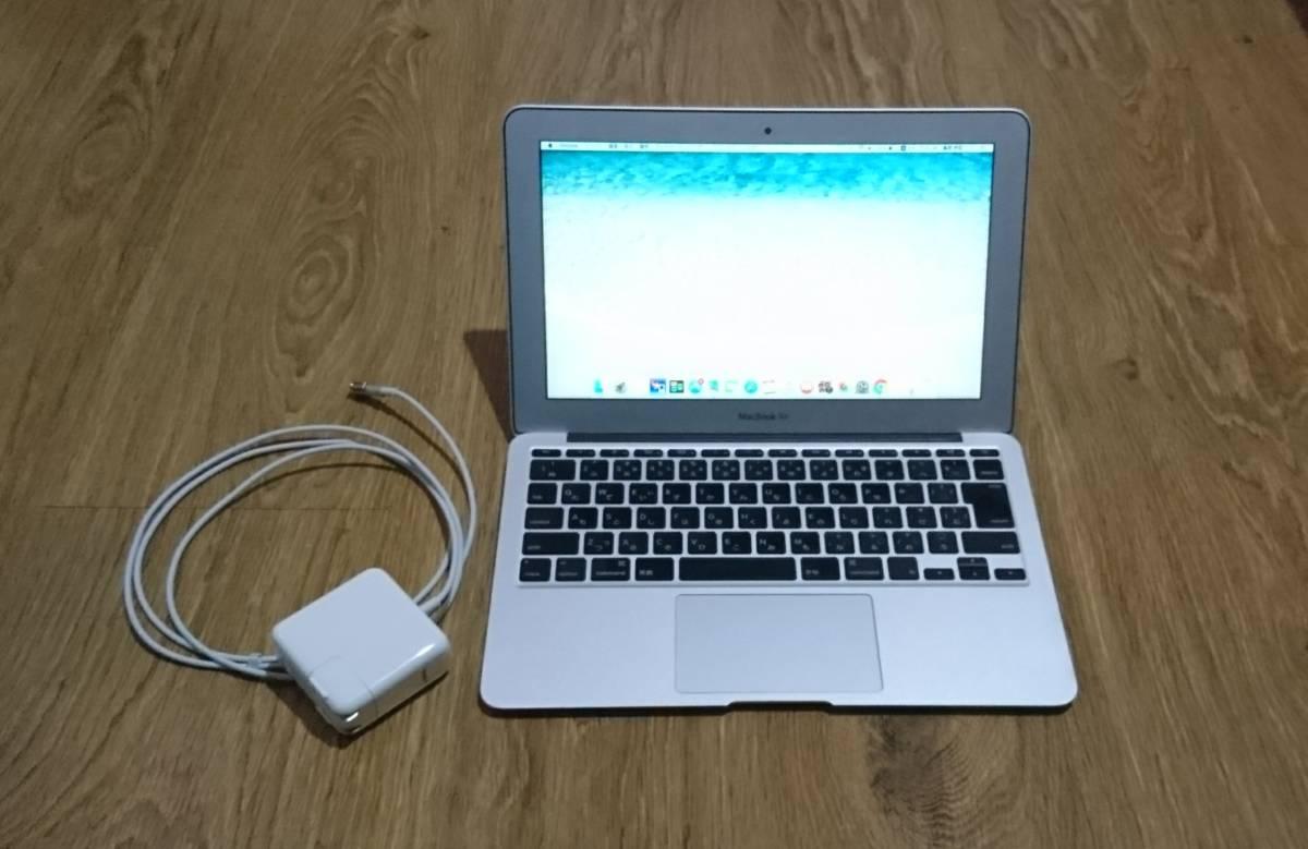 中古 MacBook Air 11インチ Mid 2011 メモリ 4GB SSD 128GB 11-inch マックブック エアー