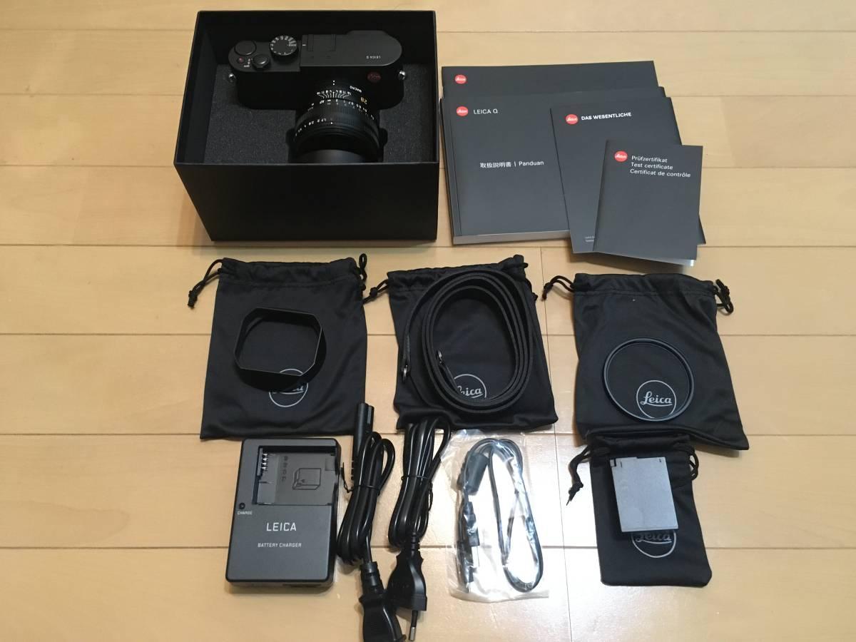 [美品/最低落札ナシ] Leica Q typ116 / ライカ 単焦点 撮影枚数914枚 オマケ予備バッテリ
