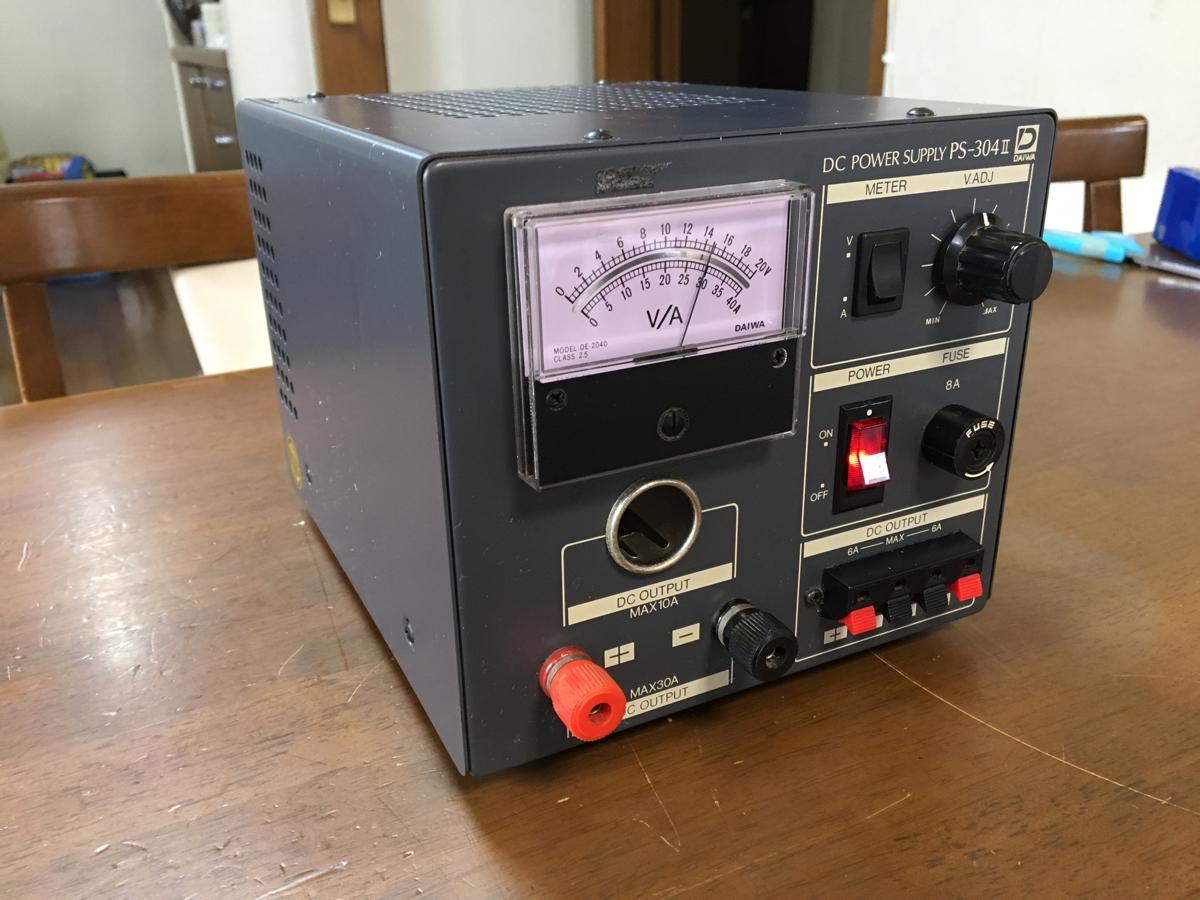 ダイワ PS-304 安定化電源 30A 動作品_画像2