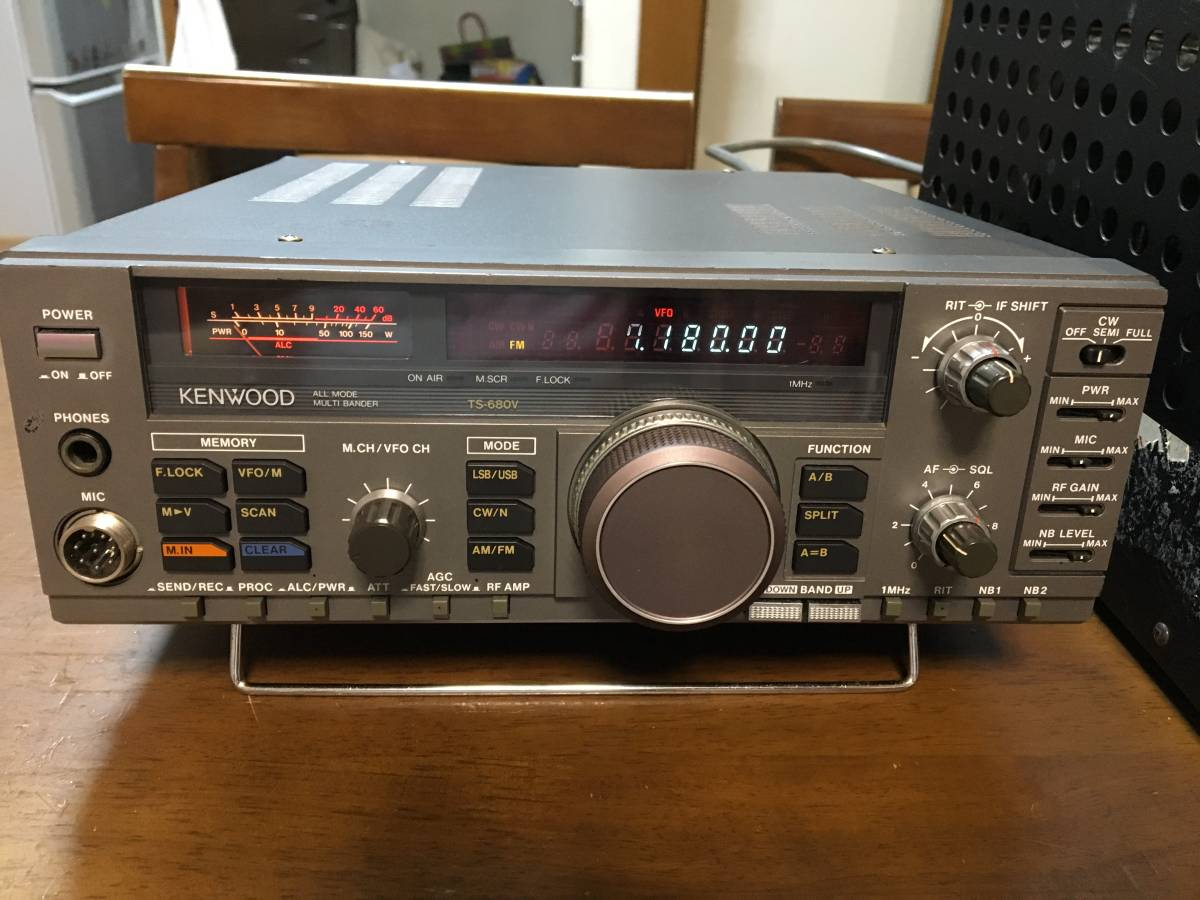 KENWOOD ケンウッド TS-680V 動作品 キレイ