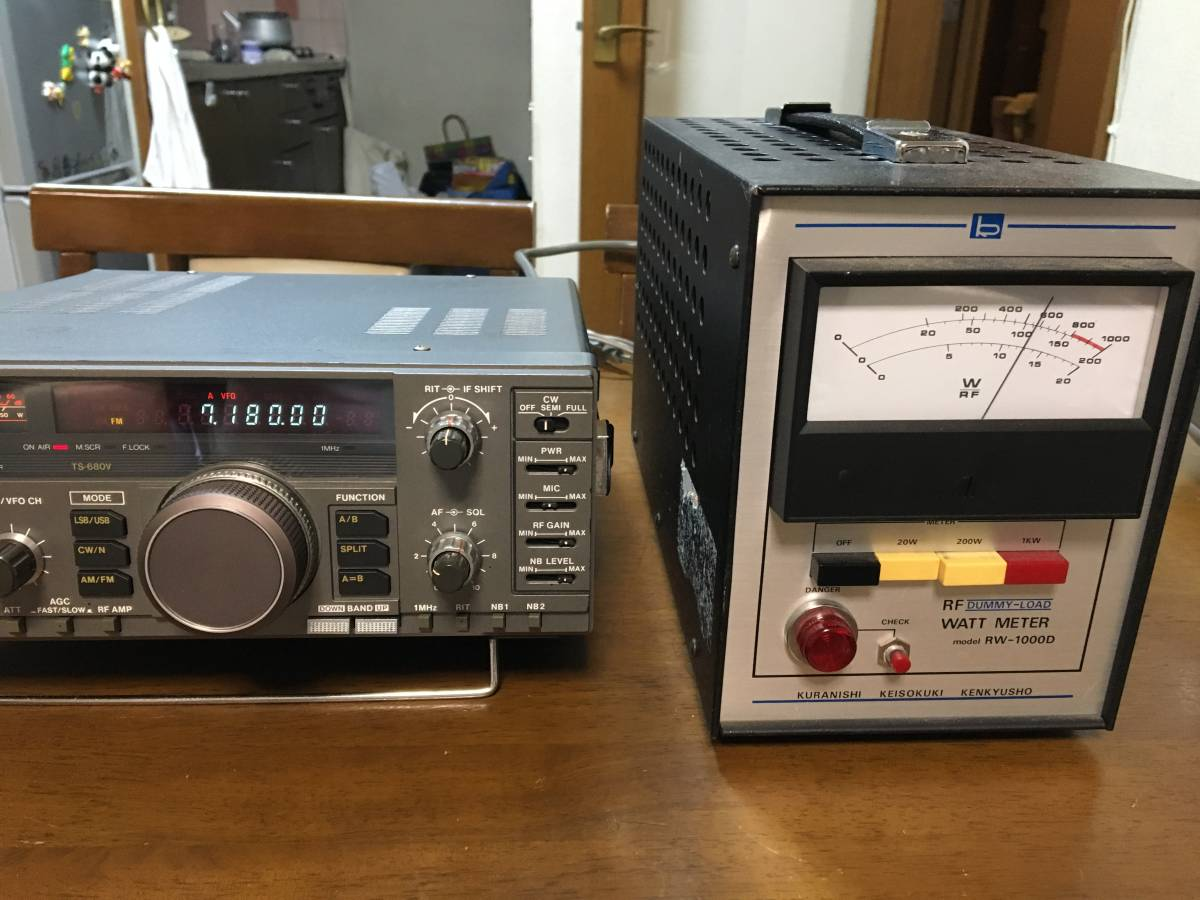 KENWOOD ケンウッド TS-680V 動作品 キレイ_画像2