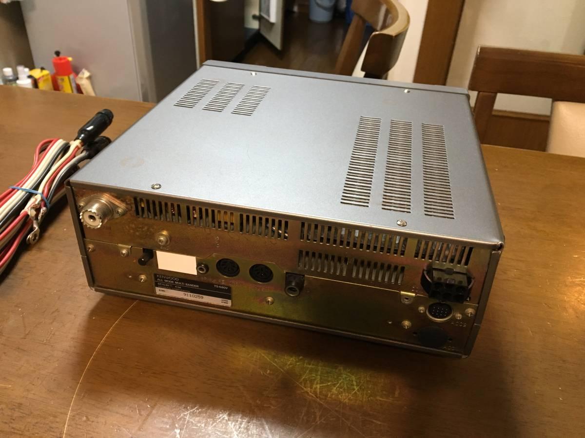 KENWOOD ケンウッド TS-680V 動作品 キレイ_画像3