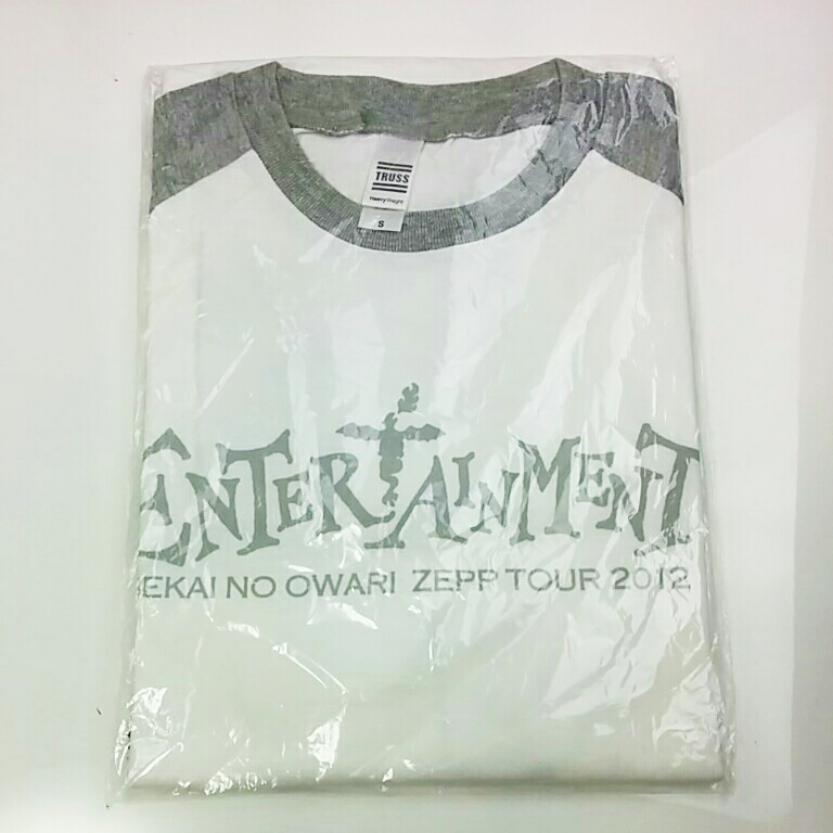 SEKAI NO OWARI ZEPP TOUR 2012 ENTER TAINMENT 七部Tシャツ セカオワ グッズ/タオル 3413