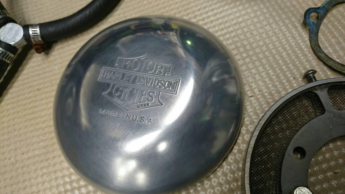 ナイスモーターサイクル 5インチエアクリーナーカバーセット 91~06 CVキャブ スポーツスター XL1200C 中古 格安 断捨離の為売り切りです_画像2