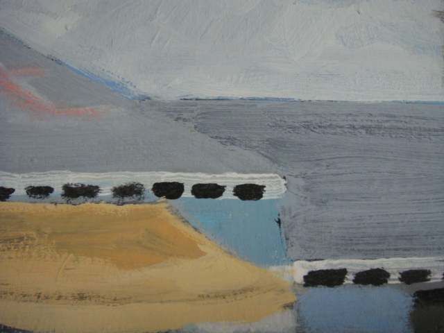 ◆ Donald lloyd smith ドナルド・ロイド・スミス/Palm Springs Artist エアストリーム 90's油彩画 検 デヴィッド・ホックニー_画像6