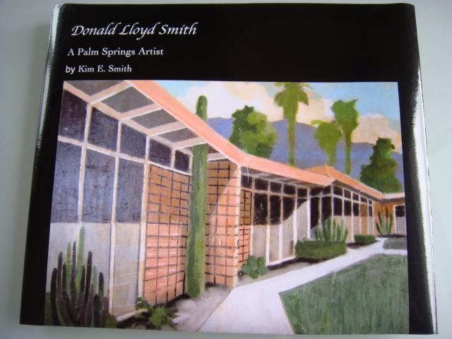 ◆ Donald lloyd smith ドナルド・ロイド・スミス/Palm Springs Artist エアストリーム 90's油彩画 検 デヴィッド・ホックニー_作品集表紙