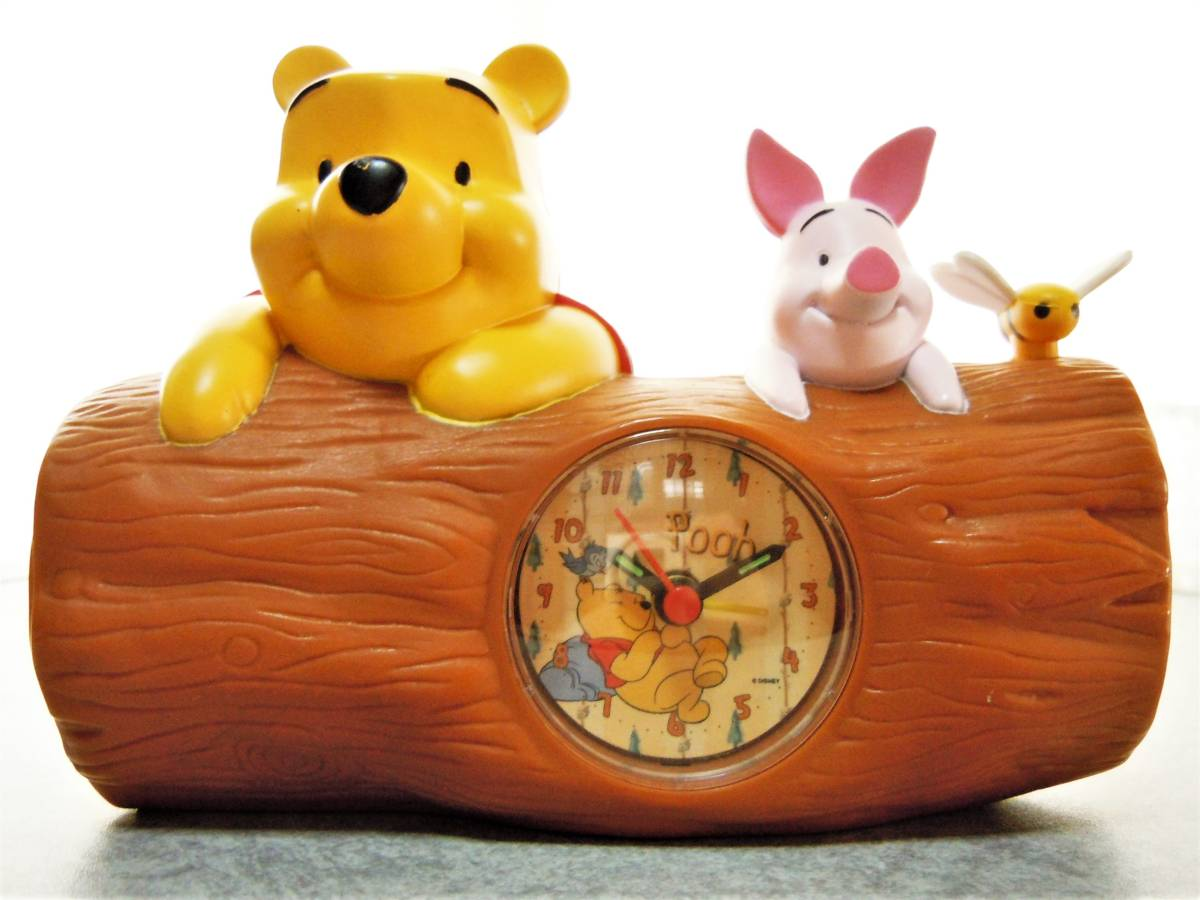 ■■■Disney ディズニー くまのプーさん 目覚まし時計■■■ ディズニーグッズの画像