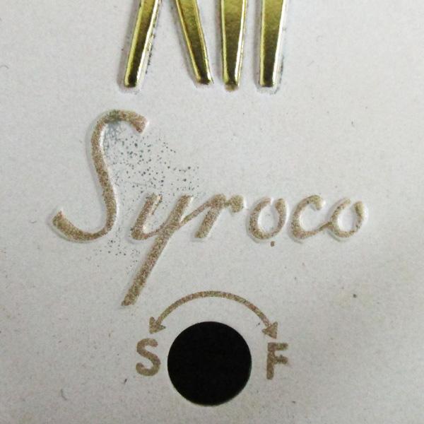 送料無料 アンティークウォールクロック SYROCO/ヴィンテージ壁掛け時計アメリカ製usa製ミッドセンチュリーモダン北欧昭和レトロ50s60s70s_画像4