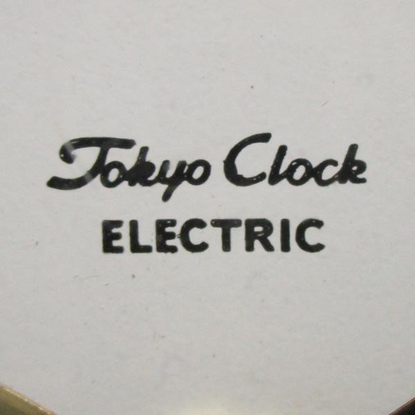 送料無料 アンティークウォールクロック TOKYO CLOCK/ヴィンテージ壁掛け時計東京時計ミッドセンチュリー昭和レトロモダン国産古時計60s70s_画像4