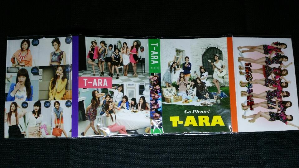 T-ARA/y4/折りたたみミニメモ帳/残りわずか/人気♪