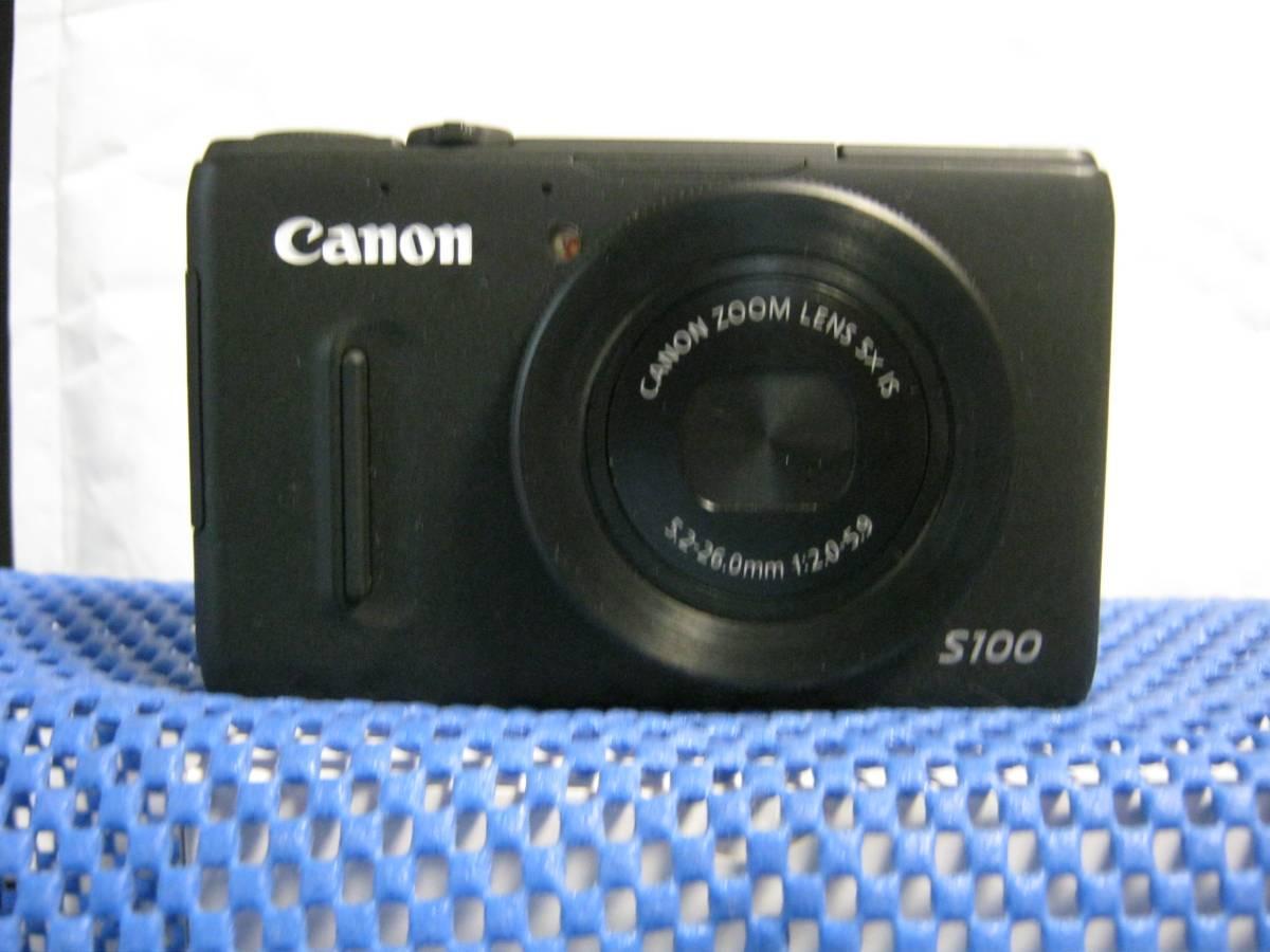 Canon PowerShot S100 (ブラック) 中古品 (本体のみ)
