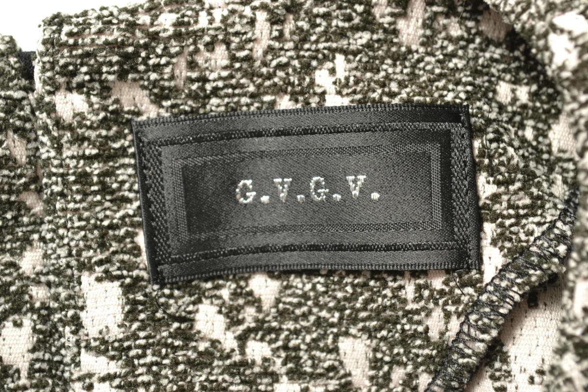 G.V.G.V. 'Watakabe Obi' スウェット シャツ 34 グレー ジーヴィージーヴィー KL4PLHAH08_画像7