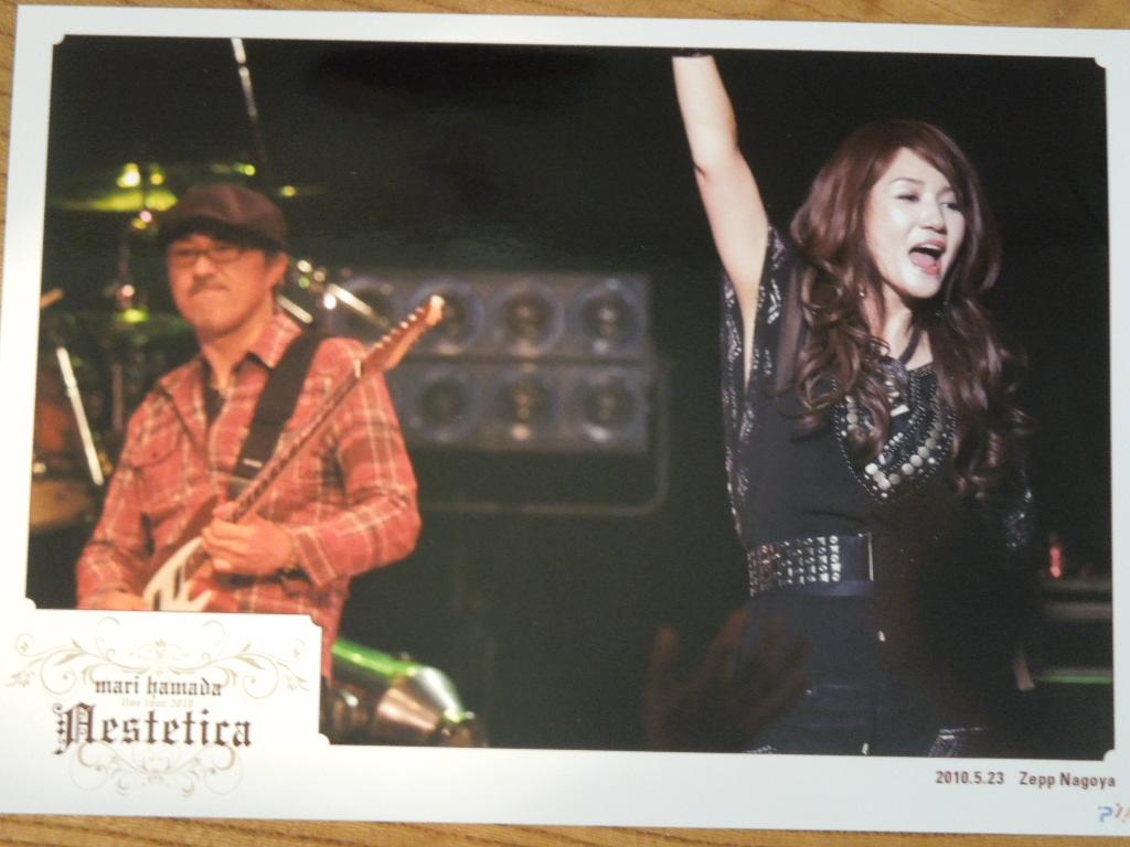 浜田麻里 コンサートグッズ live tour Aestetica 2010.5.23 Zepp Nagoya 写真