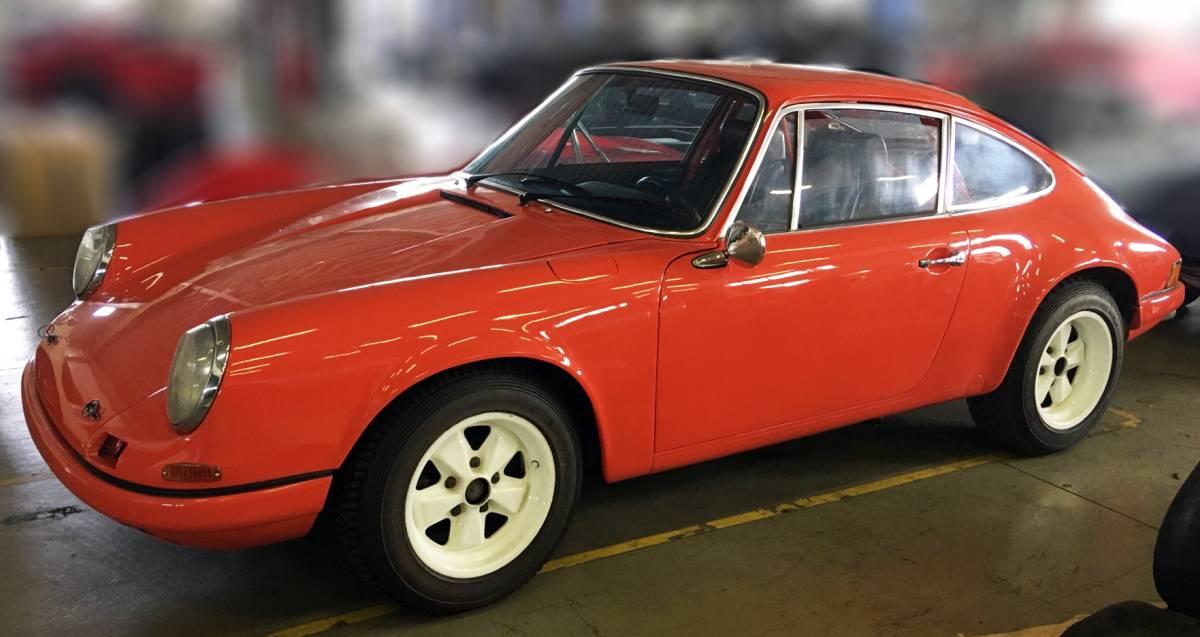 【個人コレクター代理出品】1973年 911S 964RSエンジン ボディ・エンジンフルオーバー