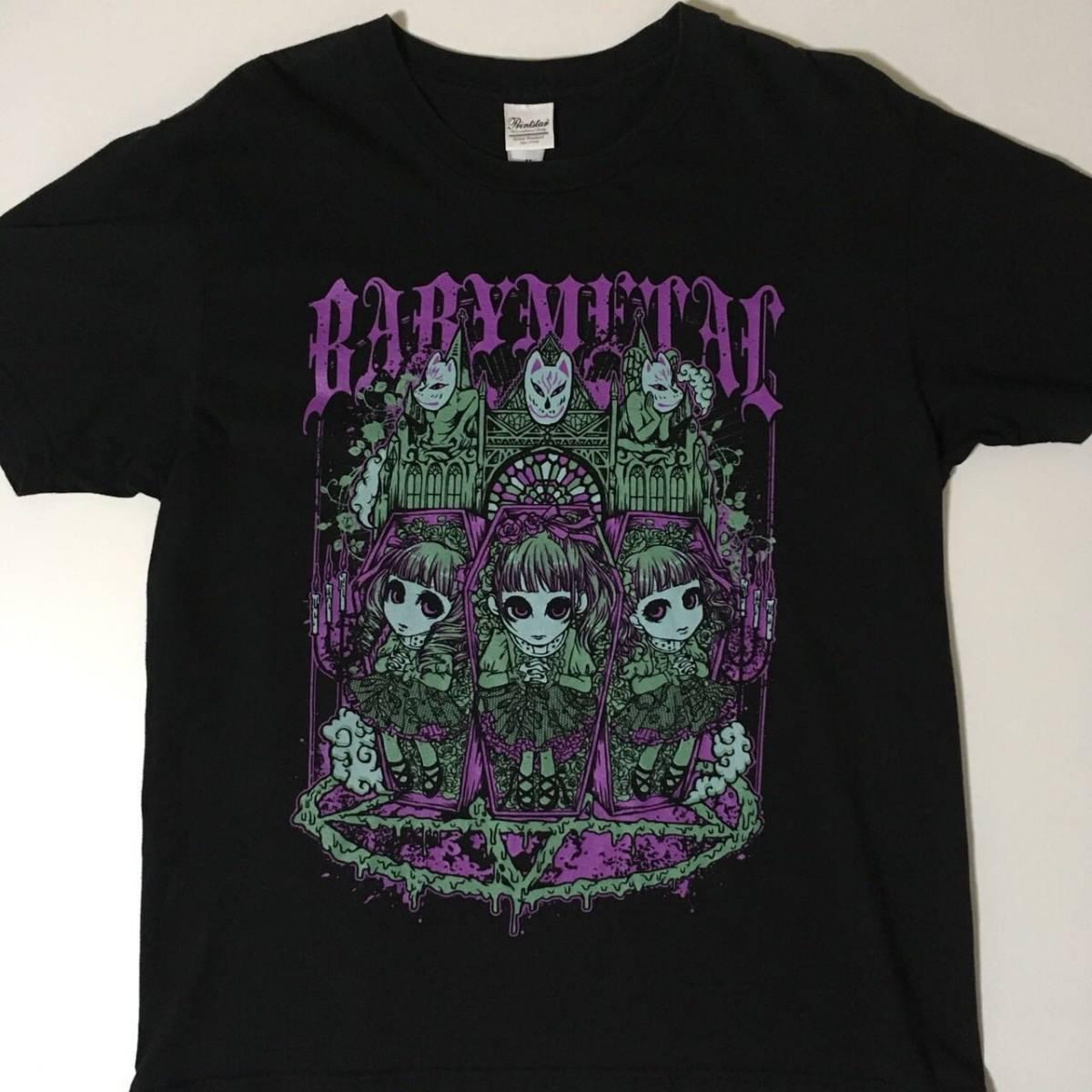 BABYMETAL /召喚Tシャツ(M) ライブグッズの画像