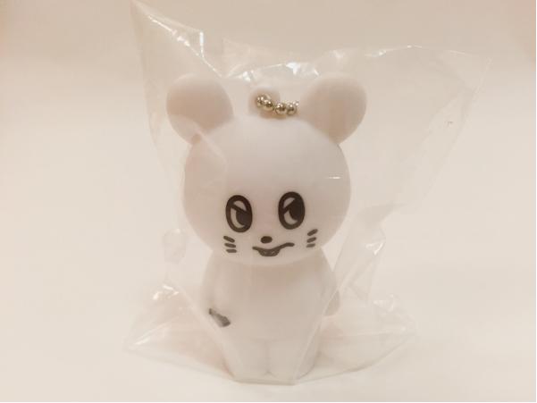 新品未開封☆キュウソネコカミ☆ネズミくん ソフビ人形(白)ガチャ/キュウソ グッズ ガチャポン