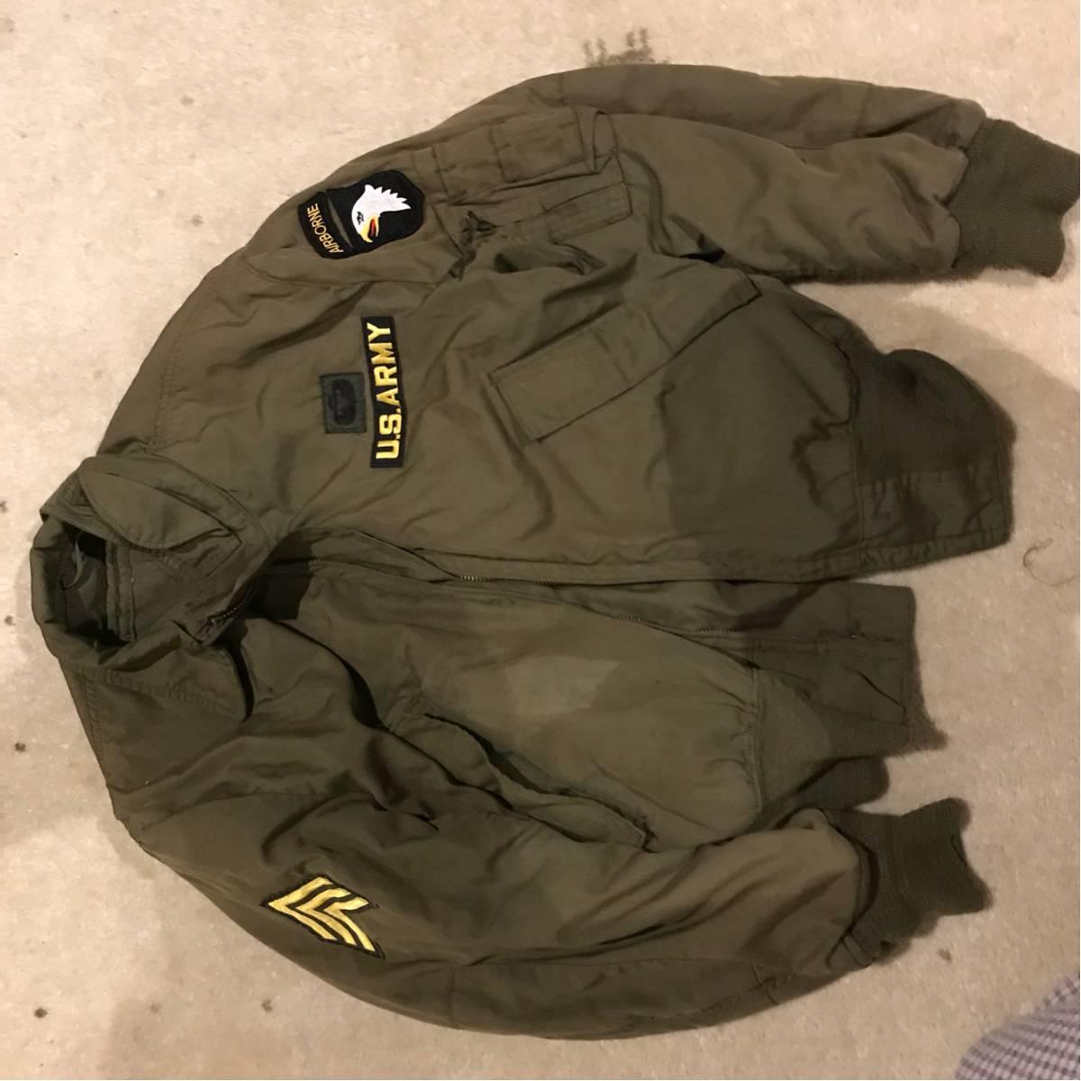 米軍実物 CVCジャケット タンカース カスタム M レギュラー コールドウェザー