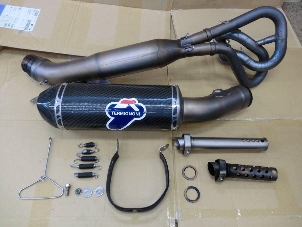 ヤマハ T-MAX530 TMAX530 TERMIGNONI テルミニョーニ フルエキゾーストマフラー キャタライザー付き