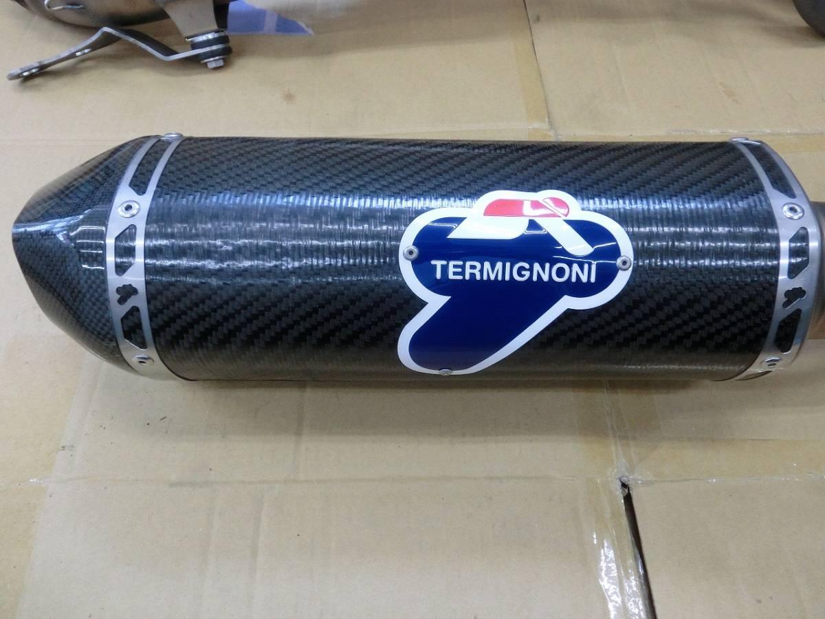 ヤマハ T-MAX530 TMAX530 TERMIGNONI テルミニョーニ フルエキゾーストマフラー キャタライザー付き_画像4