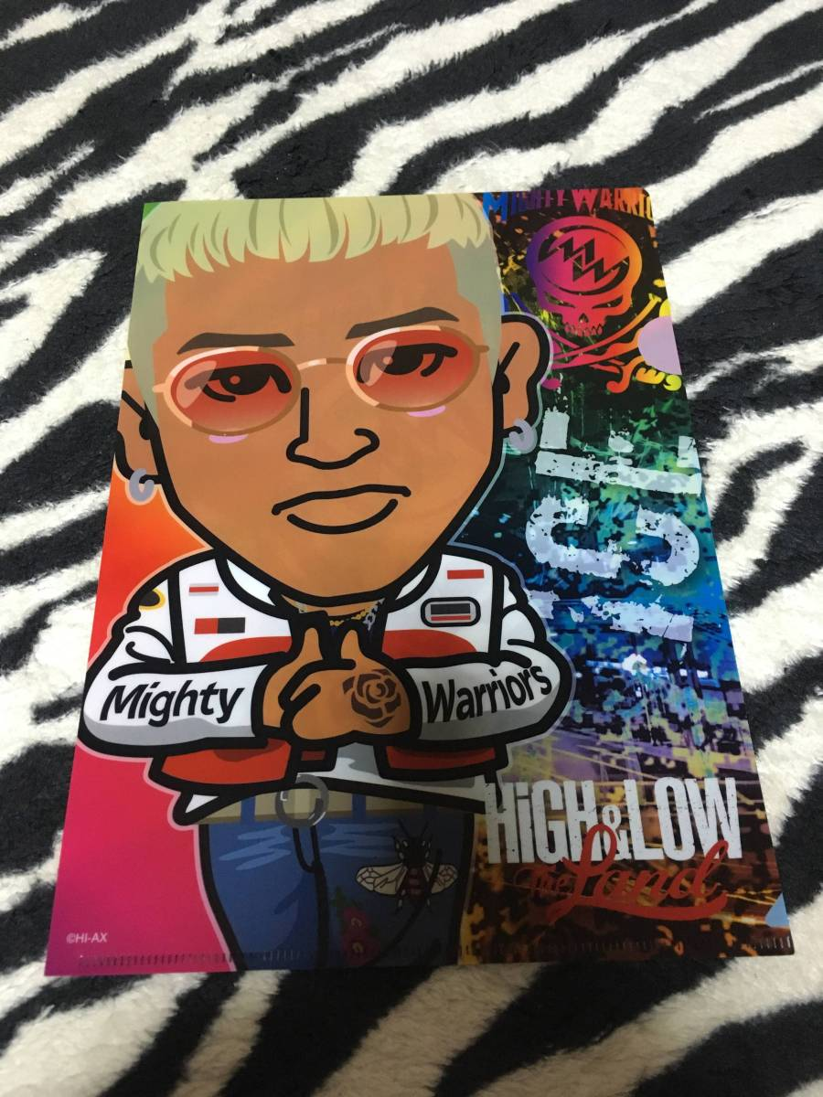 HiGH&LOW THE LAND クリアファイル ICE ELLY