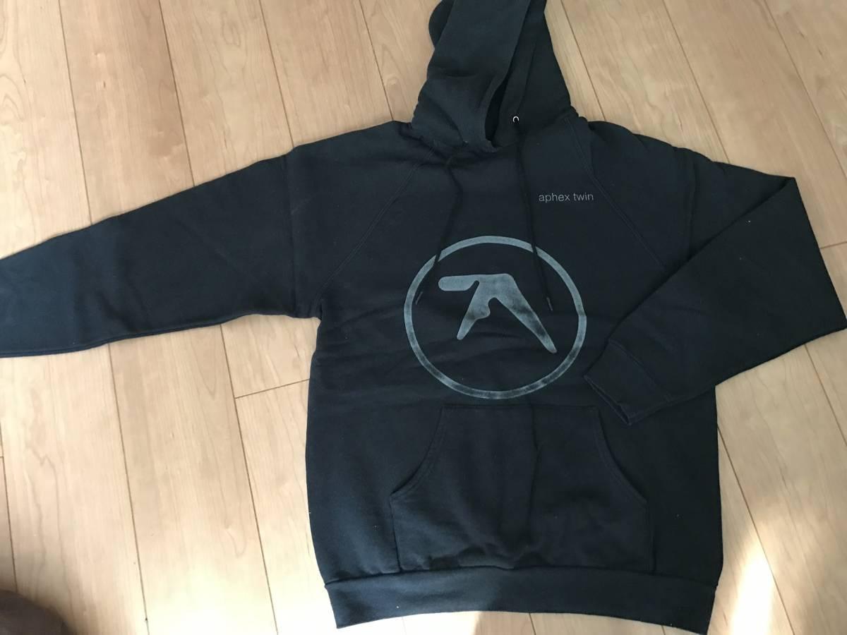 珍品! Aphex Twinパーカー フーディー US・Lサイズ 中古 エイフェックス・ツイン