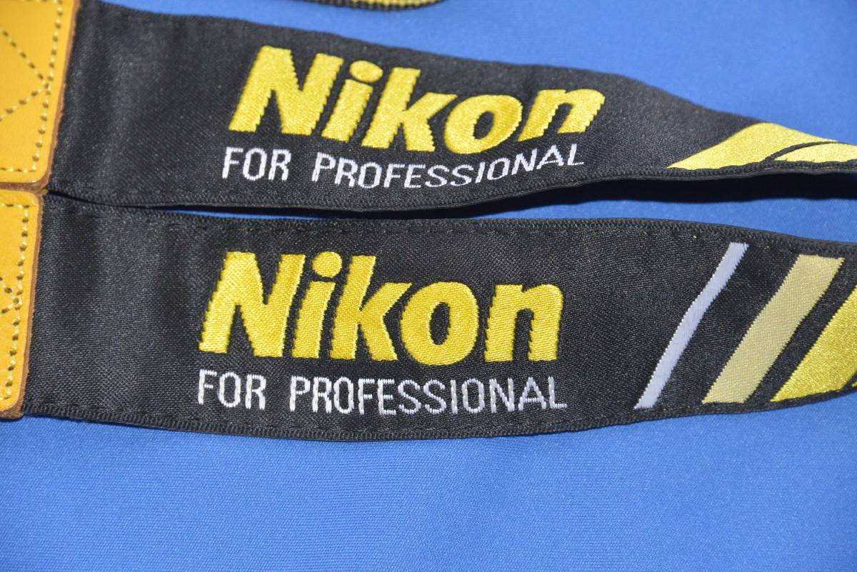 Nikon Pro Strap Nps Certification N Attaching Real Yahoo Auction