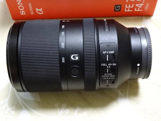 ソニーSONY SEL70300G FE70-300mm F4.5-F5.6 G OSS 新品同様