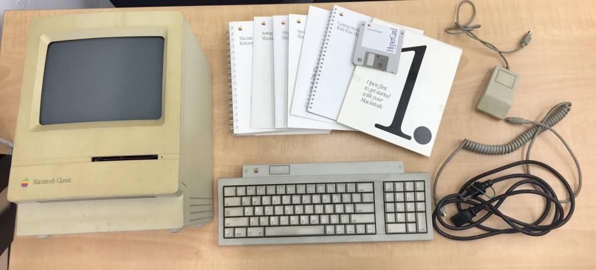 売り切り 1円~Apple Macintosh Classic ジャンク品 アップル製品