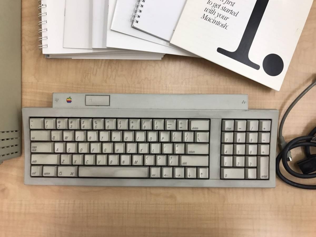 売り切り 1円~Apple Macintosh Classic ジャンク品 アップル製品_画像3