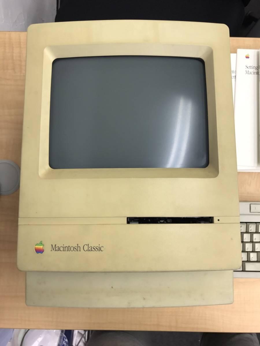 売り切り 1円~Apple Macintosh Classic ジャンク品 アップル製品_画像2