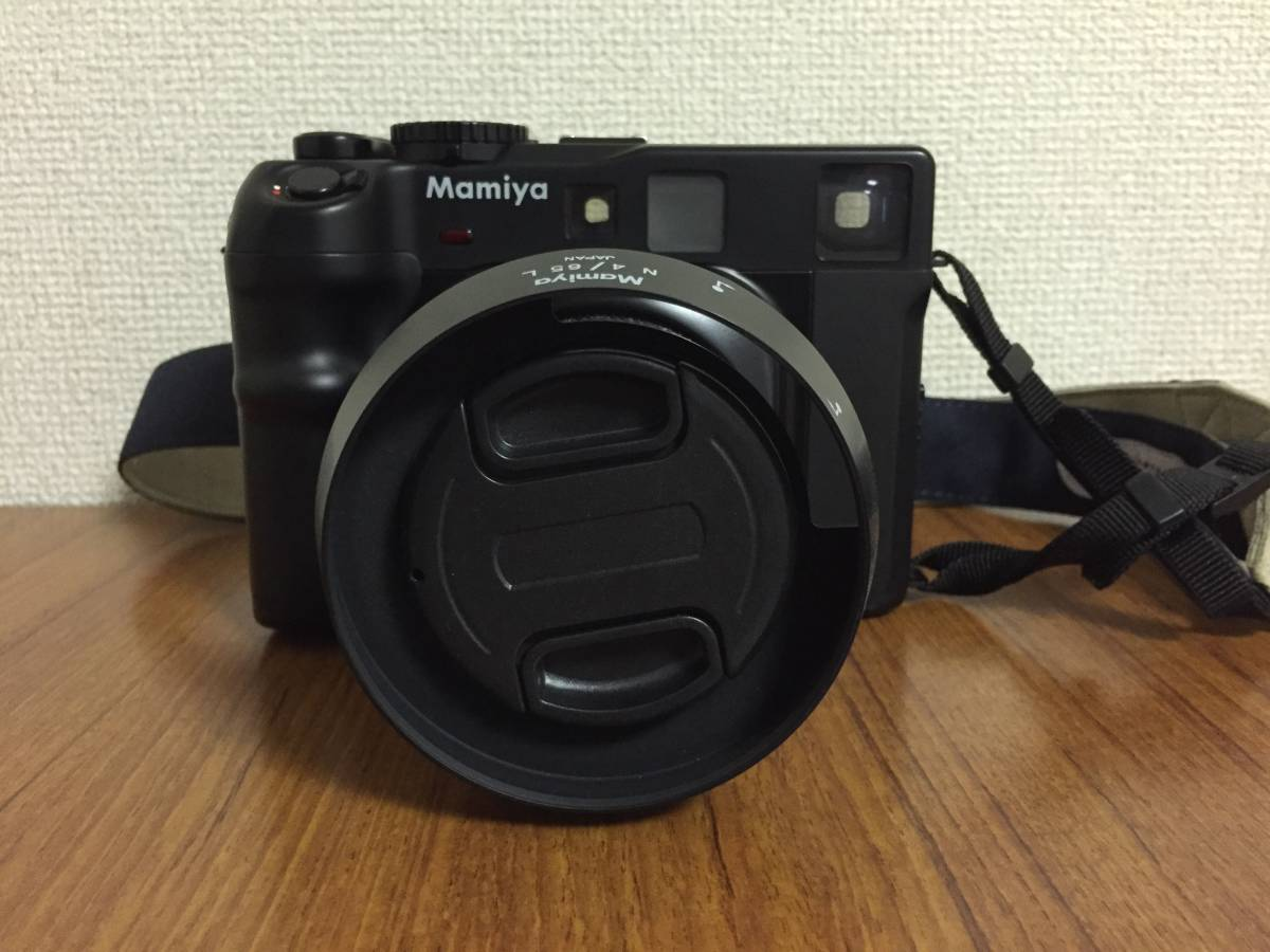MAMIYA マミヤ6 中判カメラ ボディ レンズ f=50mm 美品