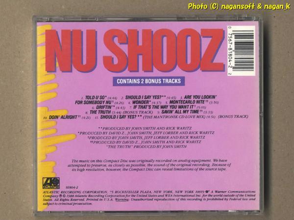 ★即決★ NU SHOOZ(ニュー・シューズ) / TOLD U SO - 1988年発表アルバム、80年代ダンス系ポップをお探しの方にお勧め_画像2