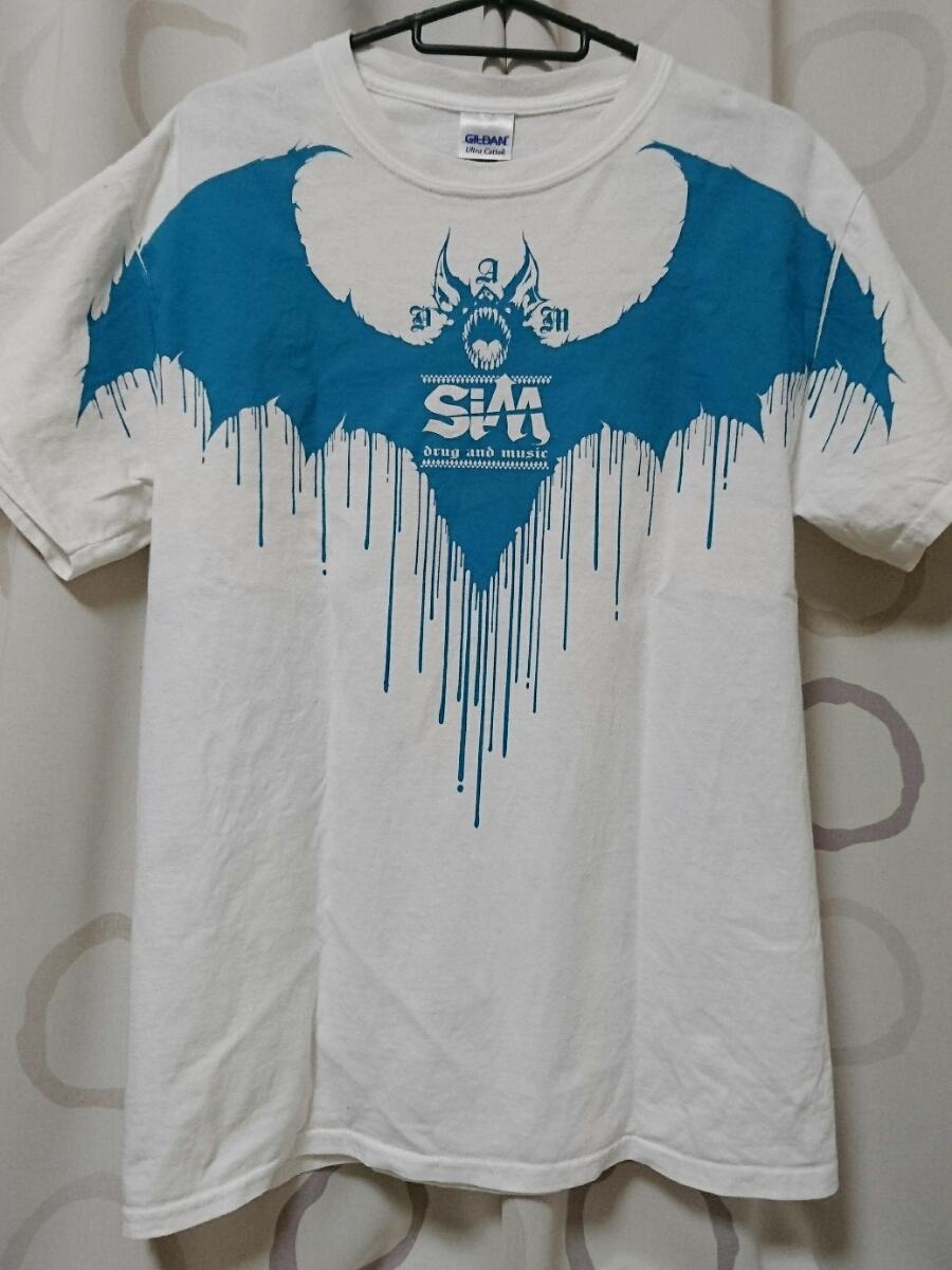 ◆SiM Reggae PUNK シム 2015 TOUR Tシャツ GILDAN M バンド Tシャツ◆