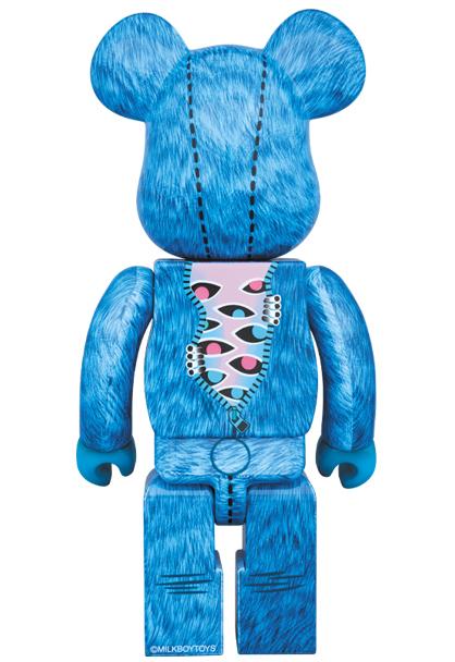 新品未開封 MILKBOYTOYS BE@RBRICK THE IT BEAR 400% MILKBOY Medicom Toy Plus ベアブリック ミルクボーイ メディコム・トイ 即決_画像2