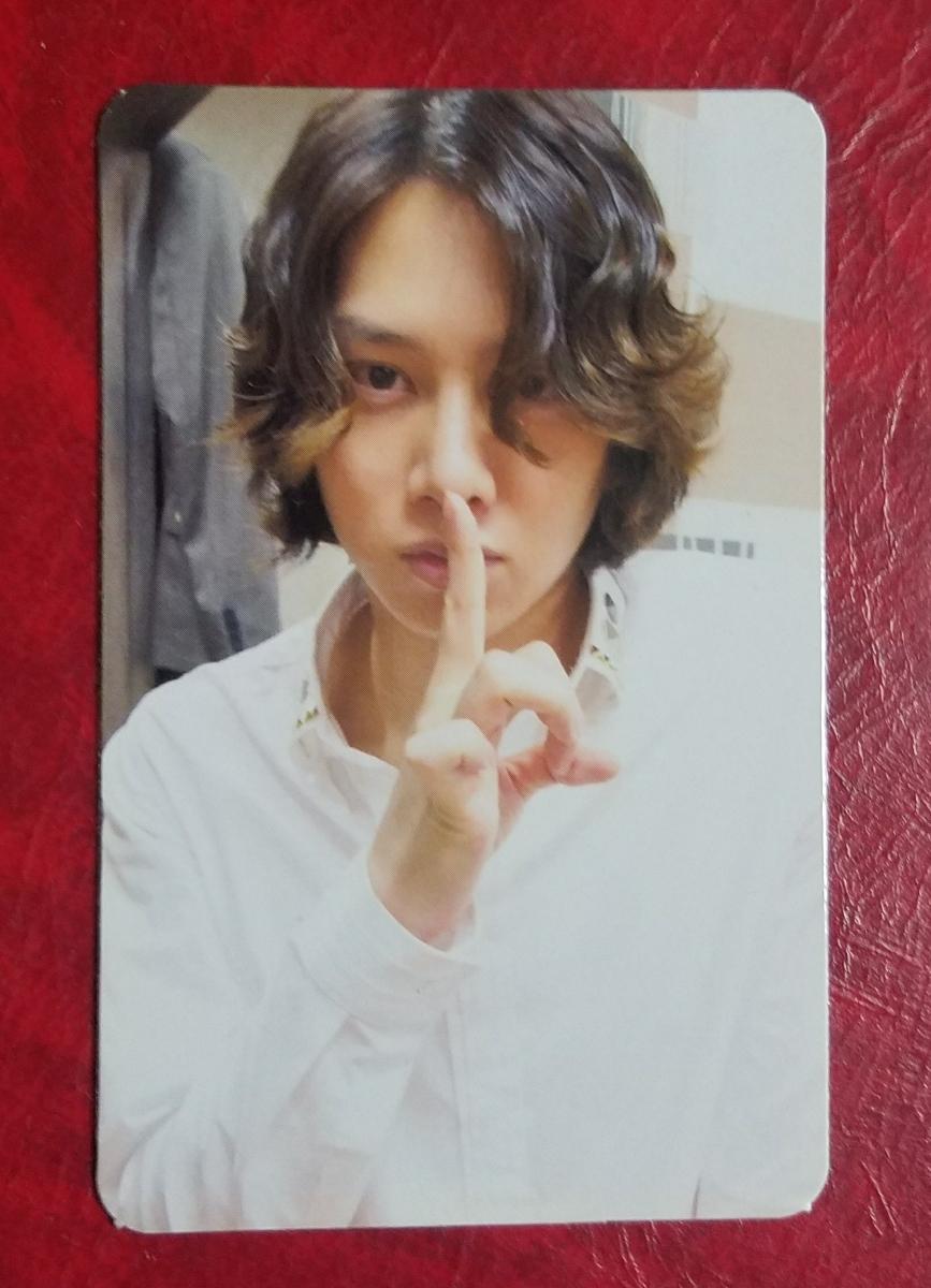 SUPER JUNIOR ヒチョル 5集 Mr. Simple TYPE B盤柄 トレカ HeeChul トレーディングカード 韓国盤 5th Album
