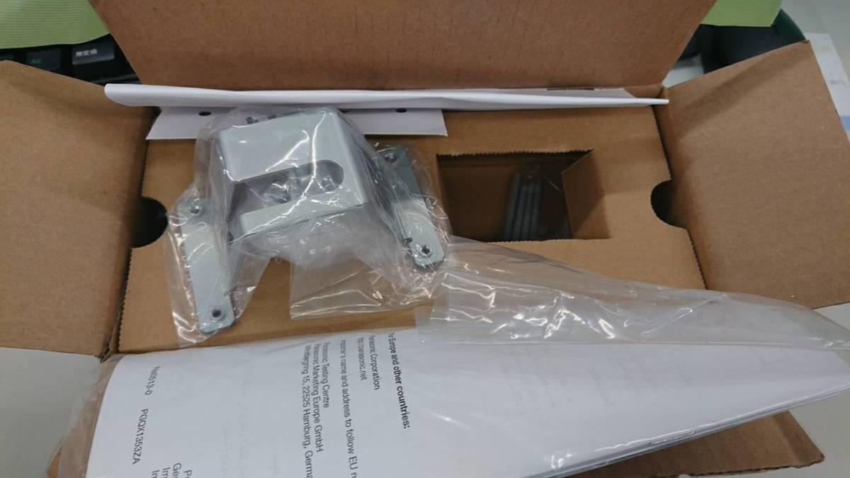 3個SET◎Panasonic【WV-Q105A】カメラ 天井直付金具 対応機種WV-SFN331/WV-SFN310J ドームカメラ専用_未使用品です