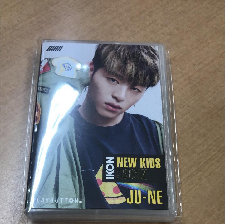 iKON プレイボタン ジュネ JU-NE ライブグッズの画像