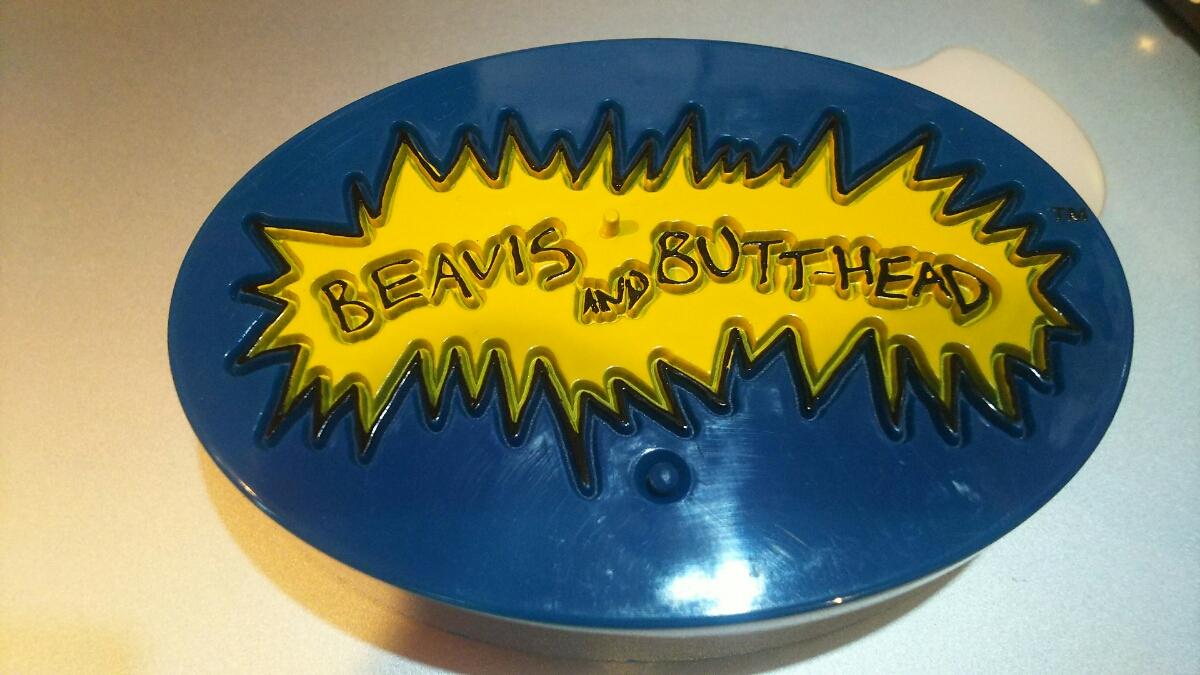 BEAVIS and BUTTHEAD トーキングフィギュア台 MTV シンプソンズ bounty hunter secret base MADTOYZ hottoys ZACPAC グッズの画像