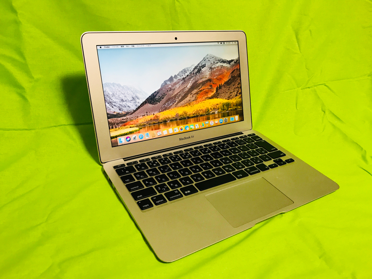 MID2012 MacBook Air i5 256GB 11inch バッテリー交換済み