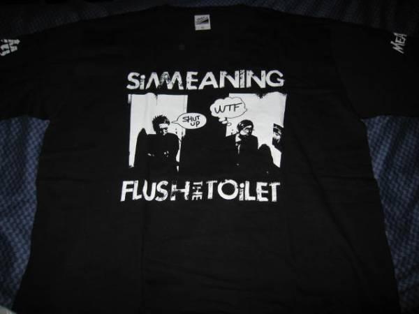 MEANING SiM コラボ Tシャツ XL