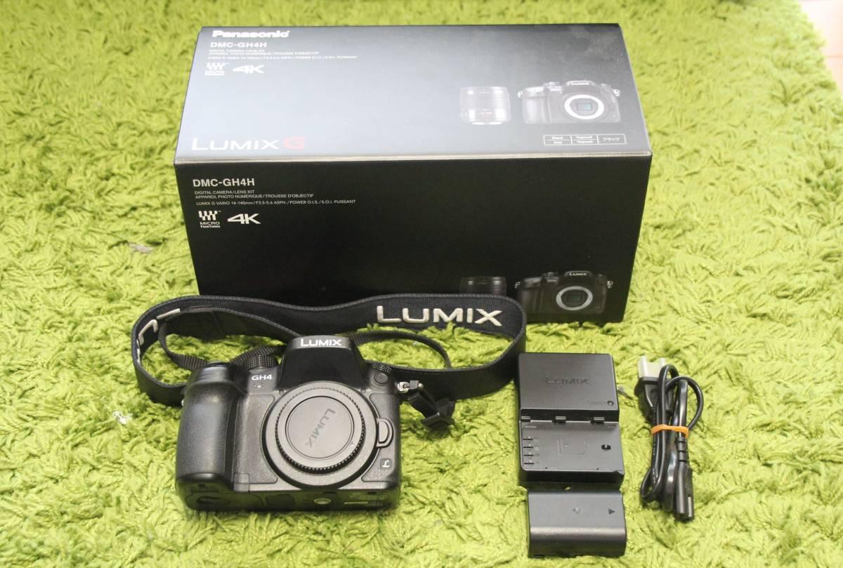 Panasonic Lumix パナソニック ルミックス DMC GH4 ボディ 中古品