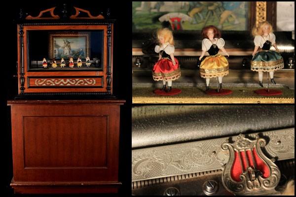 某オルゴール館収蔵品 動画有 スイス製 ステーションオルゴール 1880年代製 アンティーク