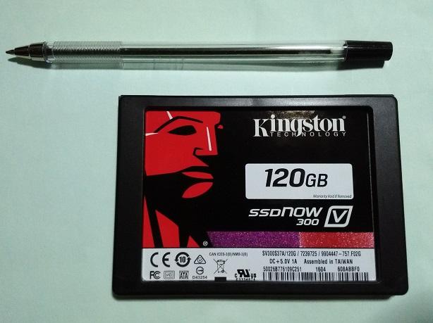 Kingston SSD 120GB (中古品)