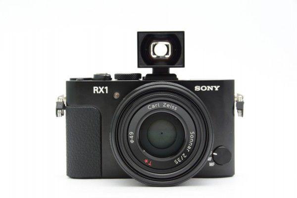 SONY ソニー Cyber-shot DSC-RX1 Zeiss Sonnar 2/35 T* + Zeiss光学ファインダー 高級コンデジ 送料無料 美品 1円オークション