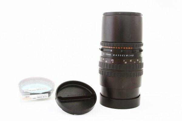 HASSELBLAD ハッセルブラッド Carl Zeiss Sonnar CFi 250mm F5.6 T* シェリロ ドイツ製 交換レンズ 極上品 送料無料 1円オークション
