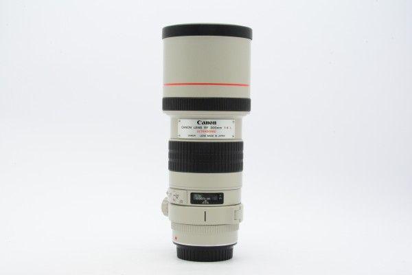 Canon キヤノン EF 300mm F4 L USM 望遠レンズ 白レンズ 動作良好 送料無料 1円オークション